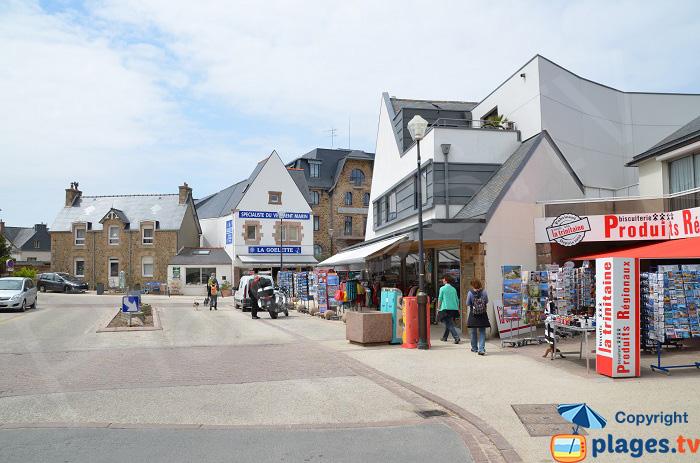 Centre ville de St Guirec - Ploumanach