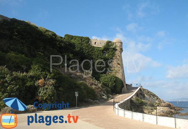 Entrée du fort de Brégançon