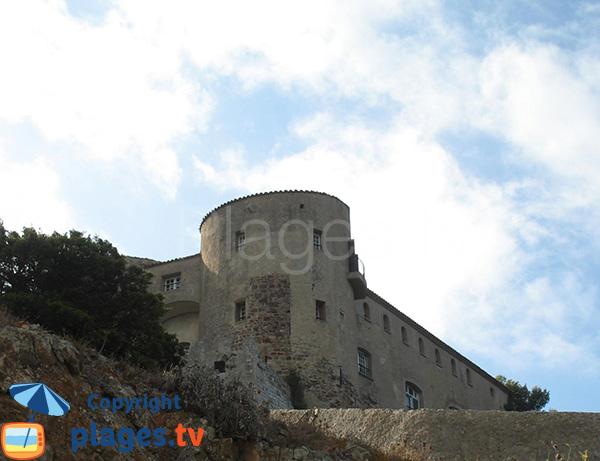 Tour du fort de Brégançon