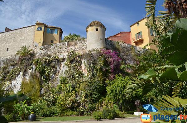 Jardin à l'intérieur de la citadelle - Villefranche sur Mer