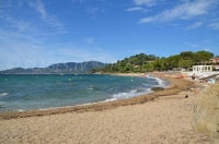 La Croix-Valmer in the south of France: beautiful sandy beaches