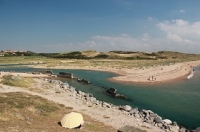 Ambleteuse in North of France: Fort Vauban, Slack and the dam