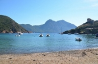 Girolata : an essential step in the visit of the Scandola reserve
