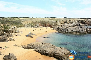 The beautiful coves of