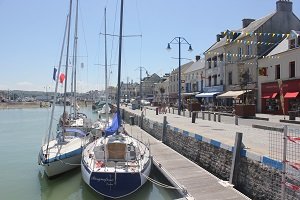 Port en Bessin : an authentic harbor just two steps from Omaha Beach