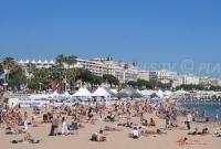Cannes pendant le Festival du cinéma