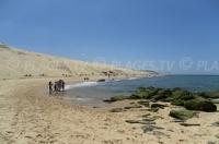 Le spiagge nella zona della duna del Pilat