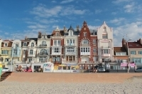 Malo-les-Bains, the seaside resort of Dunkirk