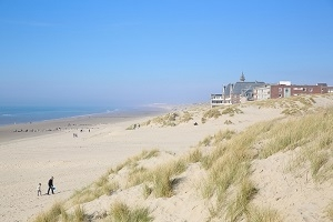 Berck sur Mer : entry point in Nord Pas de Calais in France