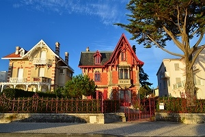 Royan, a popular seaside resort between the Gironde estuary and the Atlantic Ocean