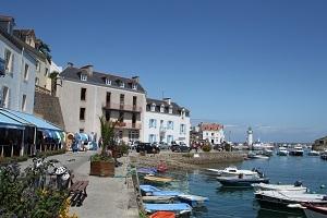A Belle-Île-en-Mer, qui aborde Sauzon s'y attache pour de bon