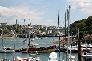 La baie de Douarnenez en Bretagne