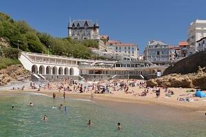 Les plus importantes stations balnéaires du Pays Basque français