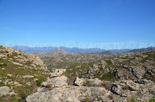 Desert of Agriates near Ghignu - Corsica