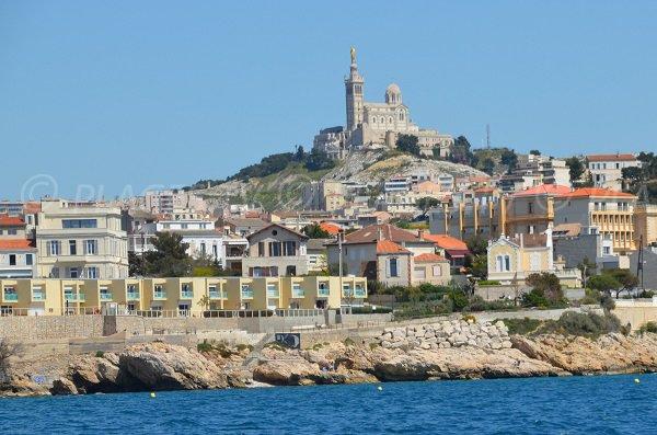 Spiaggia della calanque du Cuivre - Marsiglia