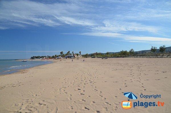Plus belle plage de Saint Aygulf