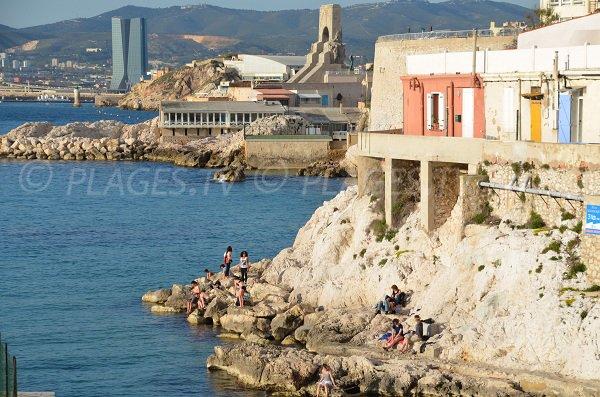 Calanque of Malmousque in Marseille