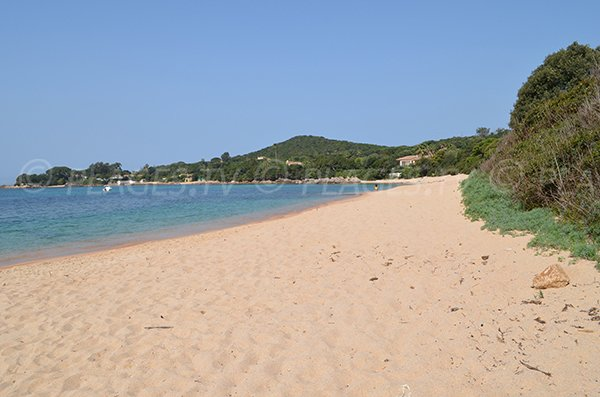Photo of cala Medea in Pietrosella in Corsica