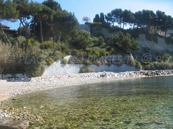 Anse de Sainte Magdeleine à Cassis