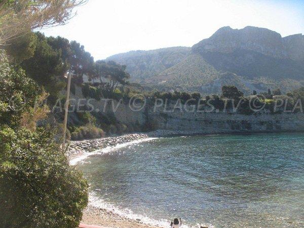 Corton beach in Cassis