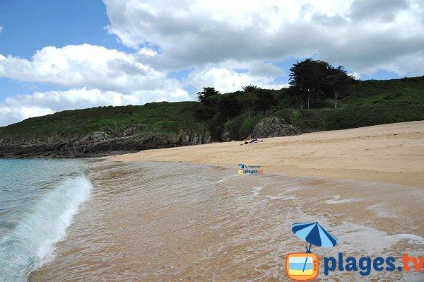 Environnement de la plage de la Touesse - St Coulomb
