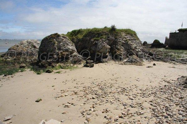Spiaggia ansa di Toulin a Le Pouliguen
