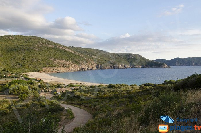 Arone and its beach - Corsica