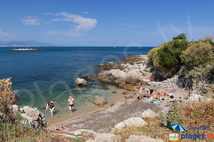 Spiaggia cap d'Antibes