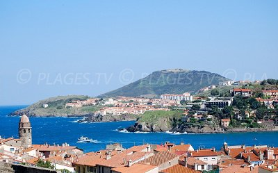 Bay of Collioure on the Vermeille Coast - France