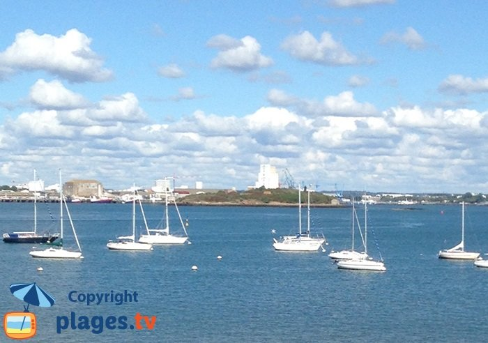Bay of Lorient and Port-Louis - France