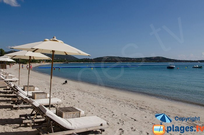 Baie de St Cyprien au sud de Solenzara