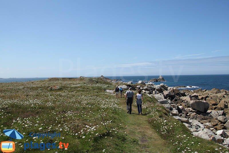 Balade sur l'ile de Sieck - Bretagne