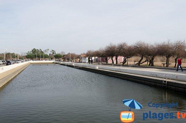 Bassin de baignade ortel emil audenge 33 gironde for Bassin de baignade