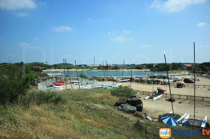 Plan d'eau et centre nautique de la Normandière - Brétignolles sur Mer