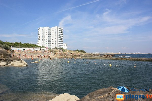 Photo of the bassin Dombret beach in la Chaume - Les Sables d'Olonne