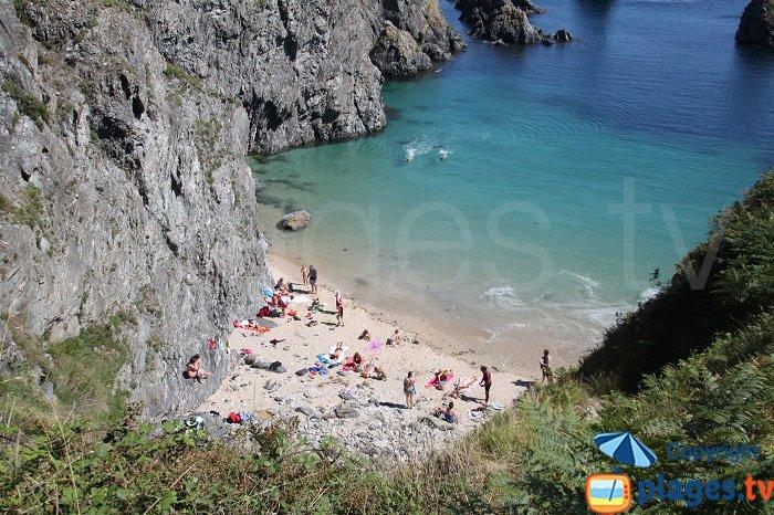 Cures beach in Bangor