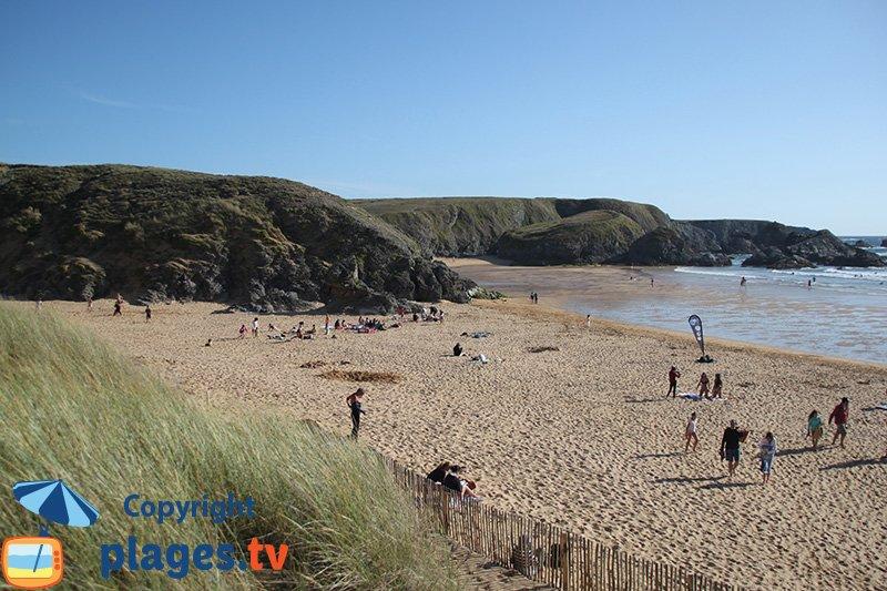 Donnant : une belle plage sauvage à Belle Ile en Mer