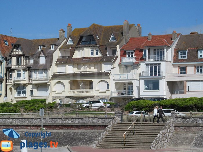 Villas on the seafront in Le Touquet - France