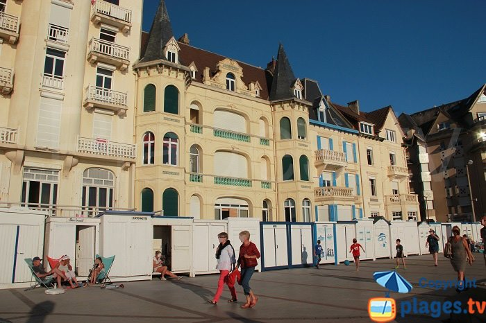 House of the Glory Days in Wimereux