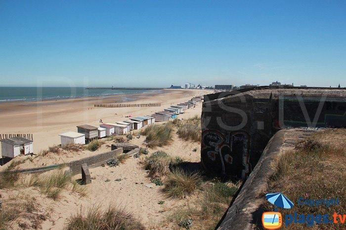 Blériot-Plage avec vue sur Calais