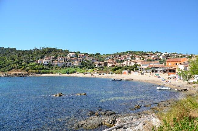 Bay of  Bonne Terrasse in Ramatuelle