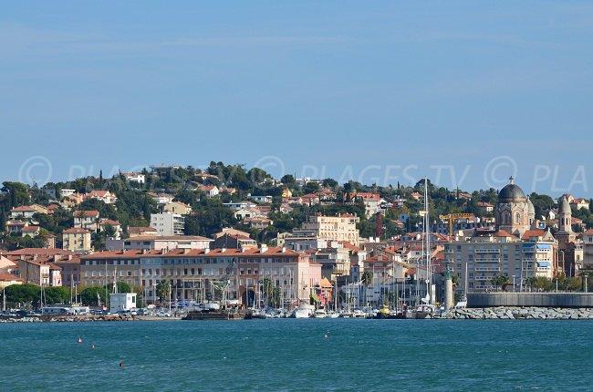 Frejus seafront - France