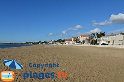 Bord de mer de Marennes avec sa plage