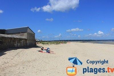 Bord de mer et plage de Quinéville