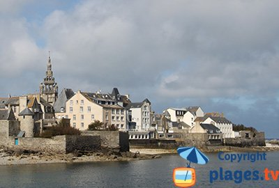 Seaside Roscoff in France