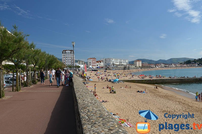 St Jean de Luz and its beach - France