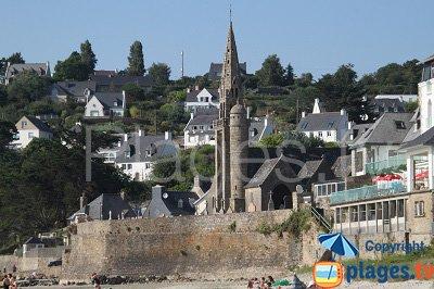 Bord de mer de Saint Michel en Grève
