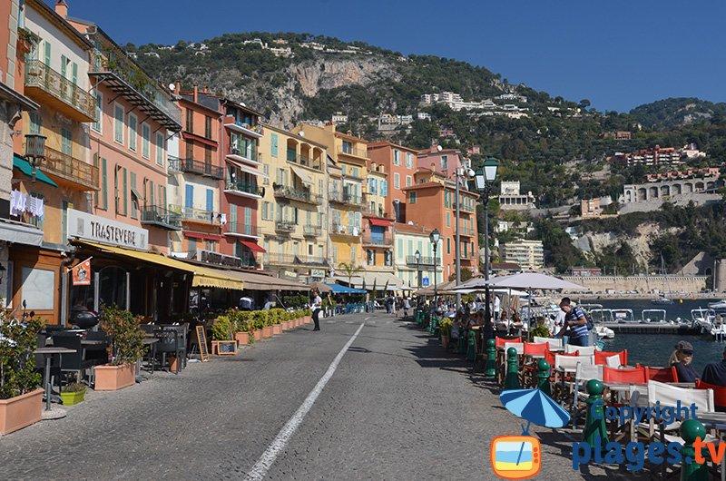 seaside of villefranche sur mer