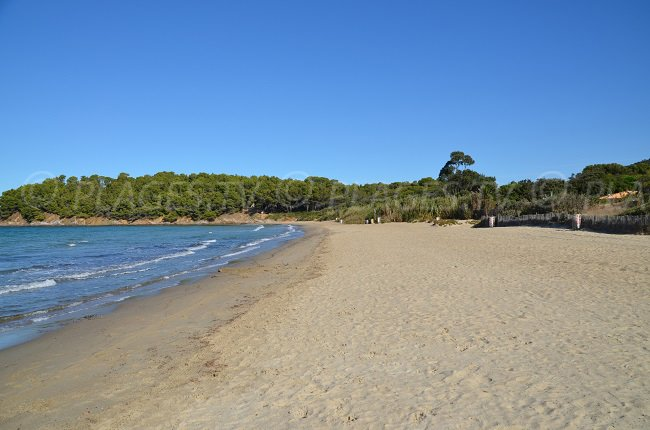 Beach in Cabasson - Bormes les Mimosas - France