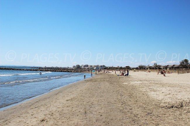 Spiaggia Boucanet - Grau du Roi